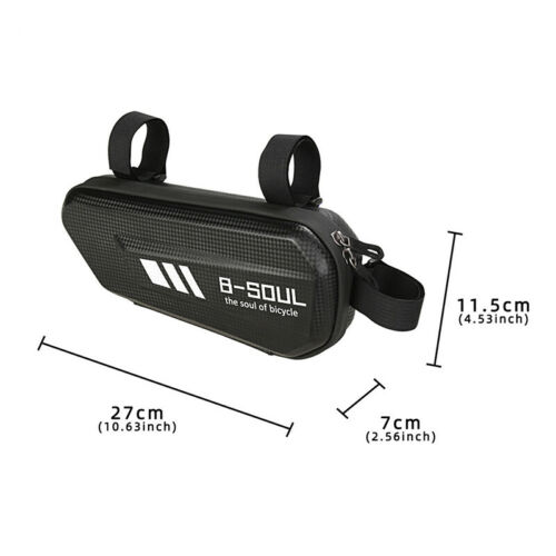 EVA Cycling Bicycle Bag Front Triangle Frame Tube Pouch For Road MTB Bike Tool