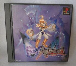 USED-PS1-PS-PlayStation-1-Alundra-Japan-import