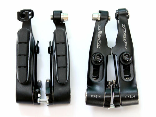 TRP CX8.4 Cyclocross Mini-V Linear Pull Bike Brake Set Front /& Rear Black