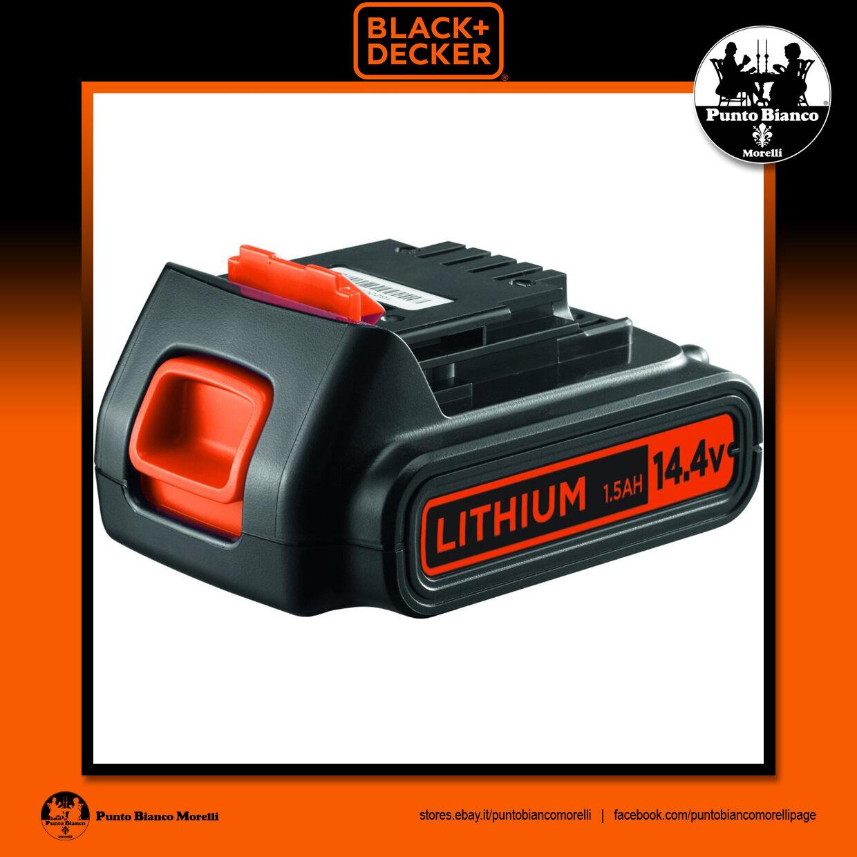 negro+DECKER. Batteria litio 14.4V 1.5Ah - Li-Ion battery   BL1514-XJ