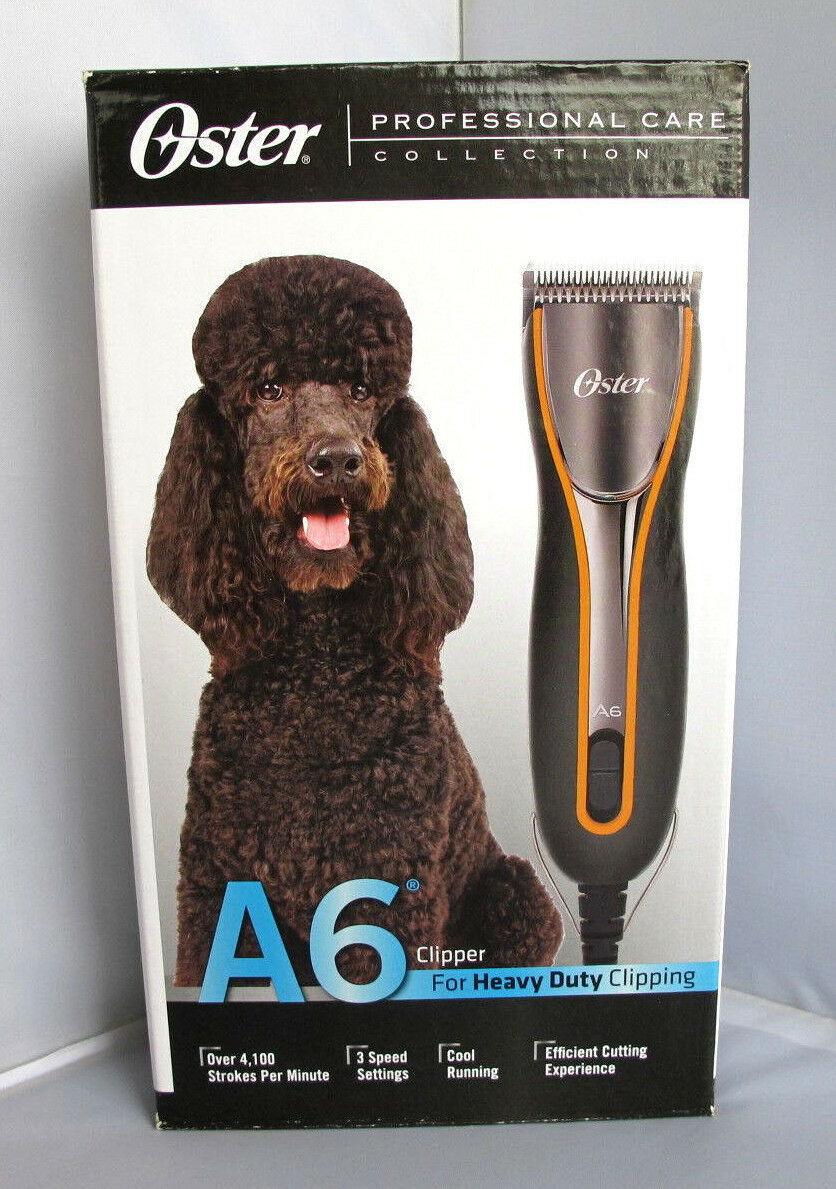 Oster A6 Heavy Duty Pet Clipper with Detachable Blade #10