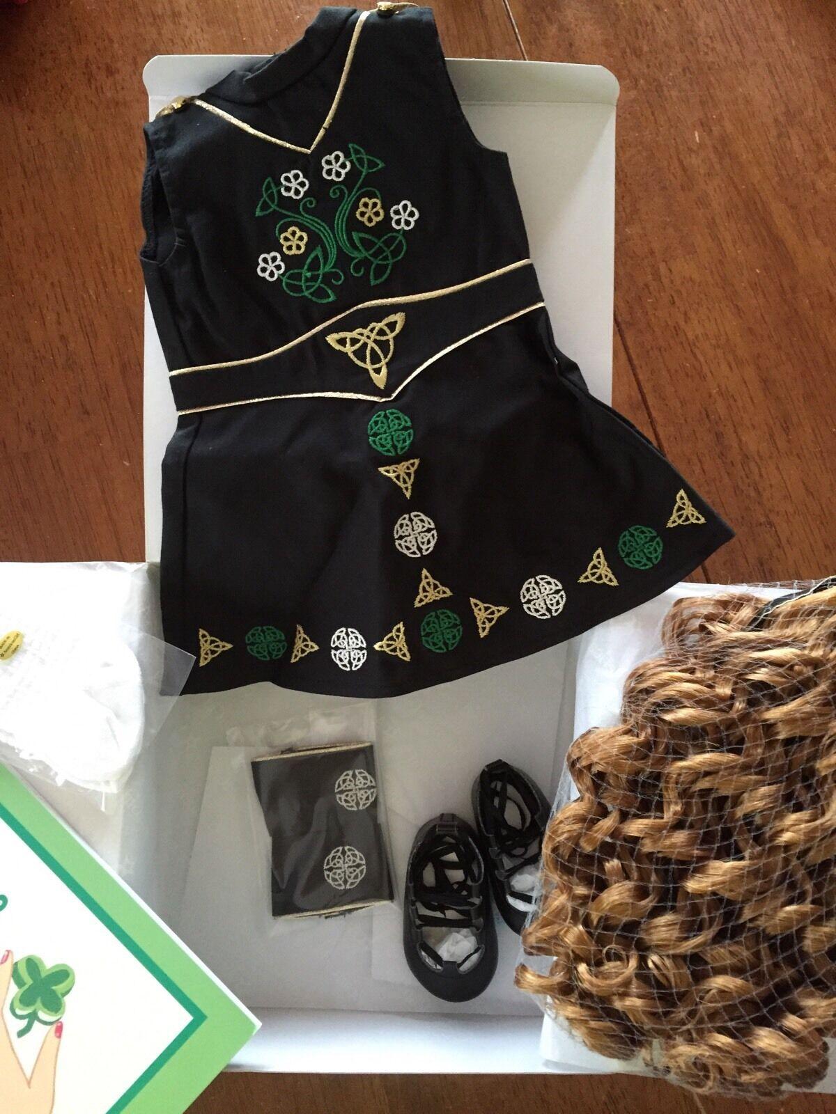 American Girl Doll de hoy trajes de danza irlandesa Nueva en Caja San Patricio's Nellie Samantha