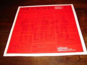 The-Strokes-Room-On-Fire-Originale-French-Promo-Bio