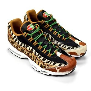 acheter populaire 7255e 66286 Details about NWT Nike Atmos Men's Air Max 95 DLX Animal Pack Safari Fur  Sneakers 9 AUTHENTIC