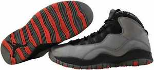 Nike-Air-Jordan-Retro-10-Infrared-Infrared-Cool-Grey-310805-023-Men-039-s-Size-11-5