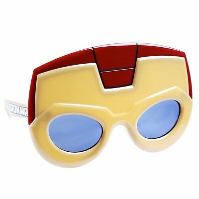 Dinamico Iron Man Marvel Avengers 100% Uv Shatter Resistente Costume Occhiali Da Sole