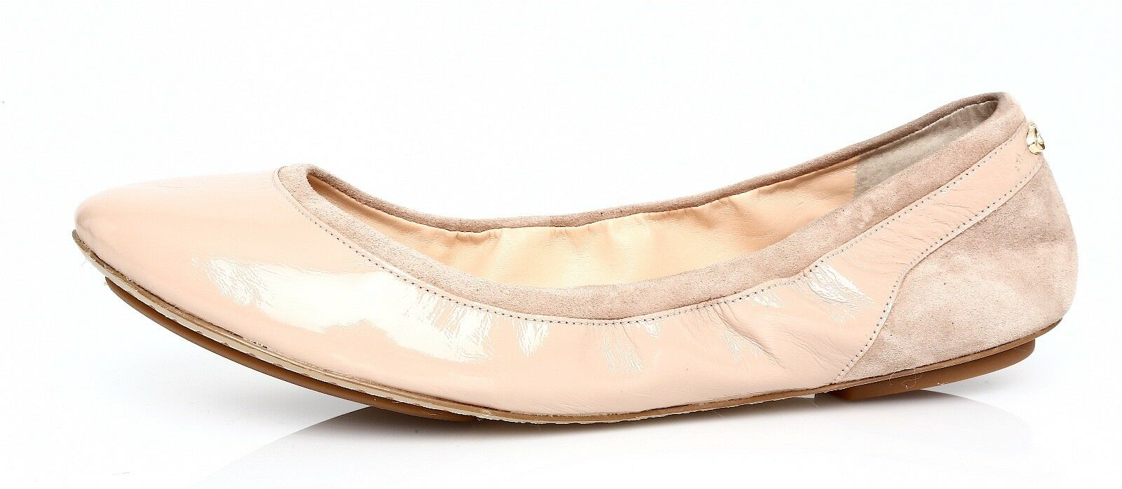 Cole Haan Avery Women's Ballet Maple Sugar Patent Leather Ballet Women's Flat Sz 9.5 B 7913 4e85a6
