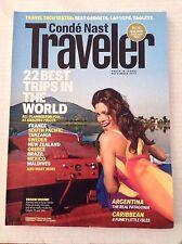 Conde Nast Traveler Magazine 22 Best Trips In The World September 2013 111916RH