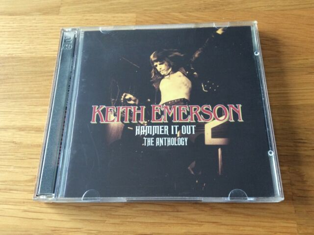 CD Keith Emerson Hammer it out The Anthalogy  2005 2 CD Rare
