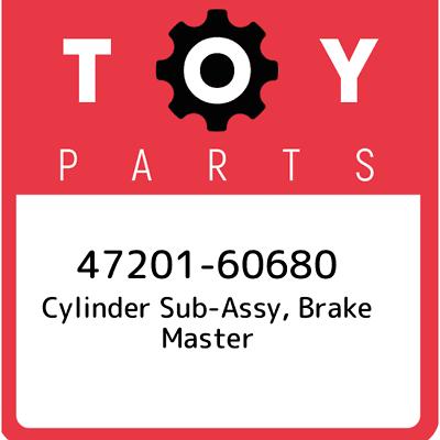 47201-60680 GENUINE OEM TOYOTA CYLINDER SUB-AS 4720160680