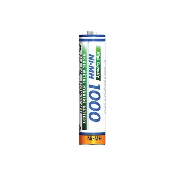Panasonic High Capacity AAA Micro Akkus Ni-Mh 1000mAh 1000mAh 1000mAh Accus aufladbare Batterien | Für Ihre Wahl  2c52ef
