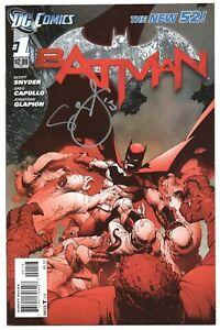 Batman-1-DC-2012-NM-New-52-Signed-Scott-Snyder-3rd-Print-Variant