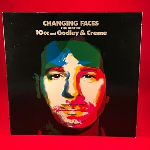 GODLEY-amp-CREME-Changing-Faces-The-Best-Of-Vinyl-LP-EXCELLENT-CONDITION-Cry-10cc