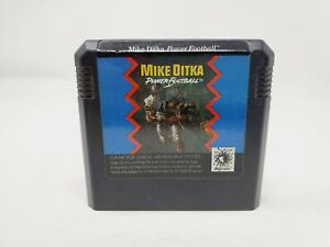 Mike Ditka's Power Football (Sega Genesis, 1991) Authentic Tested