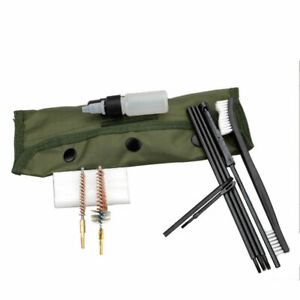 Pistole-Kit-Pulizia-Uso-Per-Fucile-Pulizie-Spazzola-da-Caccia-22cal-5-56mm-1-Set