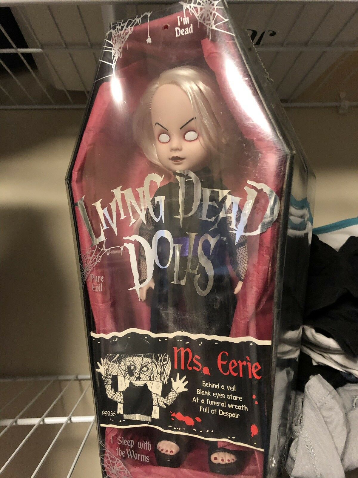 Dolls, Clothing & Accessories The Great Zombini And Viv For Improving Blood Circulation Analytical Living Dead Dolls