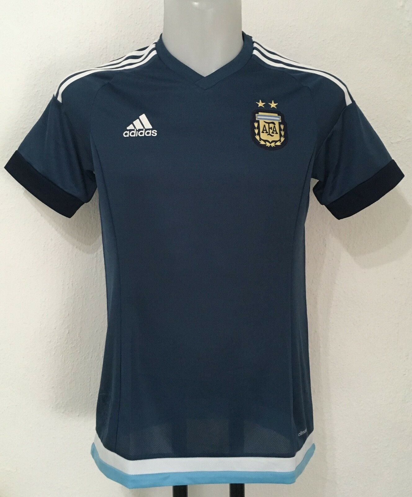 silverINA 2015 17 S S AWAY SHIRT BY ADIDAS SIZE MEN'S MEDIUM BRAND NEW WITH TAGS