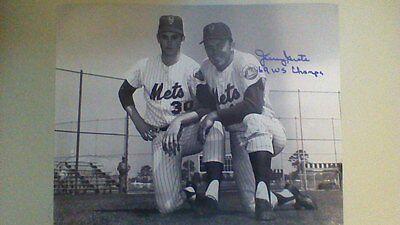 Nolan Ryan baseball rare autographed matted photo with COA