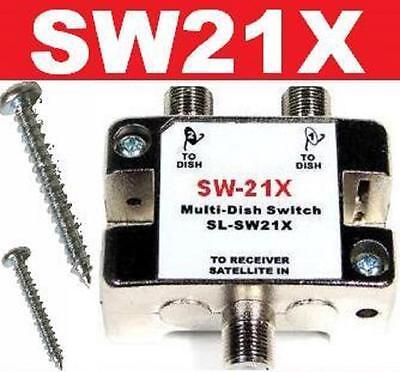 SW21X SATELLITE SWITCH SW21 LNB F// DISH NETWORK BELL VU