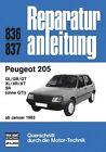 Peugeot 205 ab 01/1983 (2012, Kunststoffeinband)