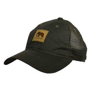 LET-039-S-BE-IRIE-Trucker-Hat-Olive-Green