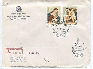 Glorieux 1979 Fdc San Marino Europa Storia Della Posta Raccomandata First Day Cover 100% D'Origine