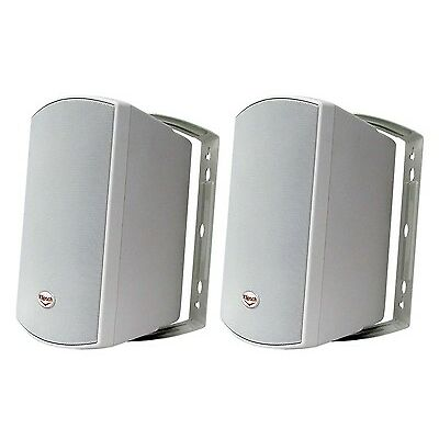 Klipsch AW-525W In/Outdoor Speakers, Brand New (White, 1 Pair). HUGE Savings!