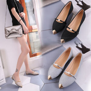 Women-Flat-Shoes-Breathable-Casual-Pearls-Decor-Fashion-Shoes-for-Work-Casual