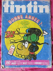 Tintin-Lot magazines numéro 1 et 47-1973(1 numéroté) - France - État : Bon état : Livre ayant déj été lu, mais qui est toujours en bon état. La couverture présente des dommages mineurs, comme des éraflures, mais n'est ni trouée ni déchirée. Pour les couvertures rigides, la jaquette n'est pas néces - France