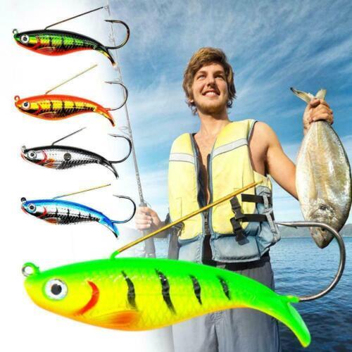 8.8cm 21g Single hook Submerged Fishing Lures Wobblers Hard Bait Crankbaits M7A2