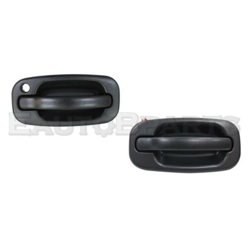 Front,Left,Right Pair DOOR OUTER HANDLE For Chevy,GMC Sierra//Silverado