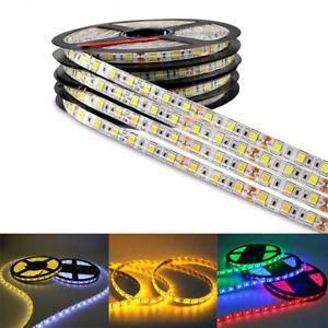 1M-2M-3M-4M-5M-SMD-5050-Waterproof-LED-Flexible-3M-Tape-Strip-Light-DC12V