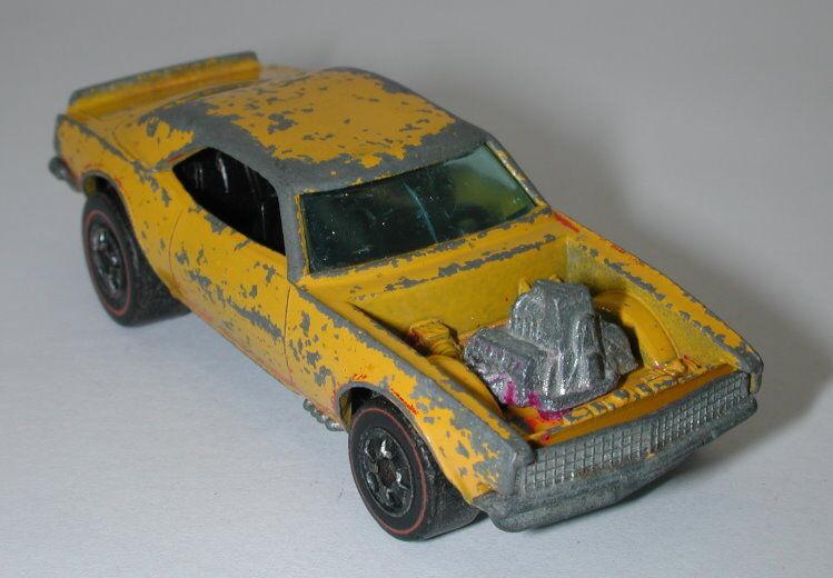 ventas calientes rojoline Hotwheels Amarillo 1974 Chevy Chevy Chevy Pesado oc11734  te hará satisfecho