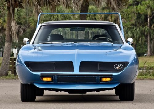 1970 Plymouth Road Runner Superbird Print Classic Cars Photo Vintage Posters