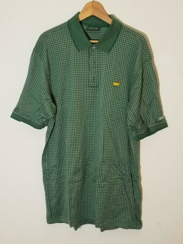 MASTERS  COLLECTION XL Golf Polo Shirt Green Maste