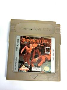Pit-Fighter Original Nintendo Game Boy Game Tested WORKING Authentic!