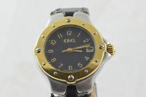 EBEL-1911-DAMEN-UHR-STAHL-750-GOLD-28MM-SPORTWAVE-6087621-UHRWERK-DEFEKT-2