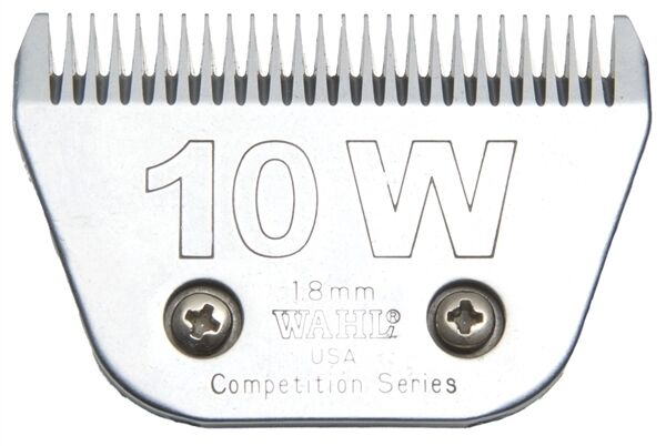 Wahl No. 10 W 1.8mm Competition clip in blade (WIDE)