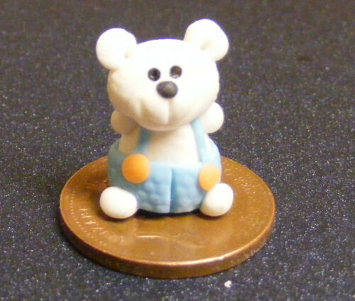 1.12 garçon argile polymère Ours Maison De Poupées Miniature Jardin Accessoire LB12