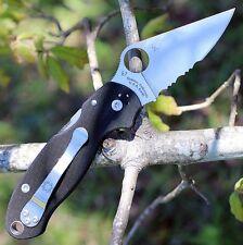 """Spyderco """"usa"""" - C223GPS PARA 3 ParaMilitary CPM-S30V blade G-10 handle knife"""