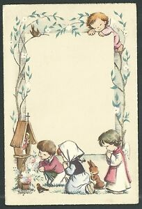 Estampa-antigua-de-Ferrandiz-andachtsbild-santino-holy-card-santini
