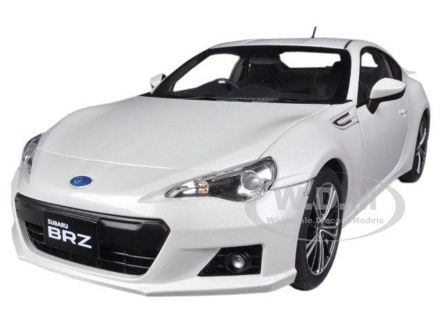 El nuevo outlet de marcas online. Subaru br-z blancoo blancoo blancoo 1 18 Diecast Coche Model por Autoart 78693  para barato