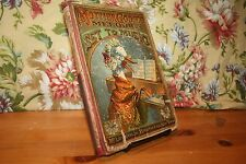 Mother Goose's Melodies Set To Music Antique Children's Books Mcloughlin Ca 1888