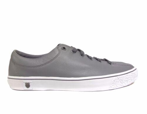 K-SWISS Unisex CLEAN LAGUNA VNZ Low Casual Shoes Grey//White 72926-059 a4