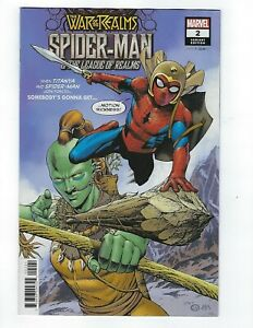 Spider-Man /& The League Of Realms # 1 Variant NM Marvel War Of The Realms
