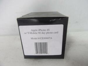*New* Apple iPhone 4S CE99667A w/ T-Mobile 90 Day Phone Card
