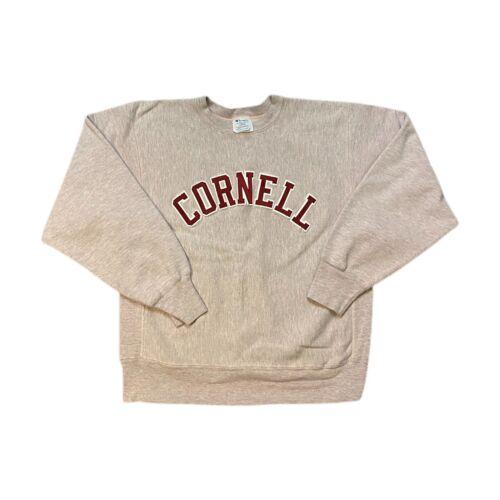 Vintage 90s Champion Reverse Weave College Cornell