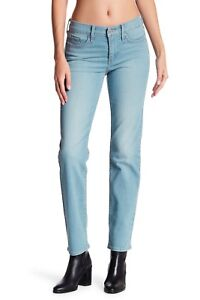 284b04fd7684 Levis 314 Shaping Straight Jeans Womens Mid Rise Willow Glen Blue ...