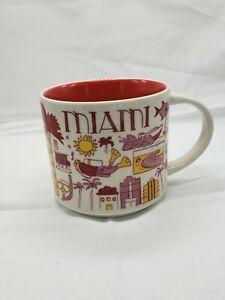 "Starbucks 2019 Miami ""Been There"" series Mug"
