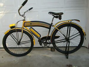 Vintage COLSON Skip Tooth Chain Bicycle - 26 Inch Tires - Pre-war- -SNAP TANK